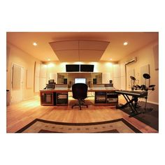 For the Home / home recording studio ❤ liked on Polyvore