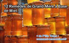 12 Remèdes de Grand-Mère à Base de Miel.