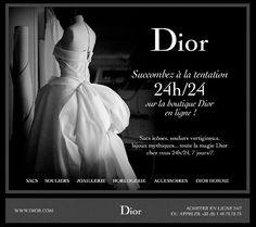 Dior – Boutique HTML email marketing design