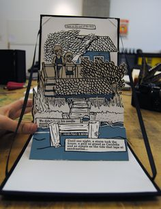 Perspective Lesson (foreground, middle, back...)---Pop Up Books