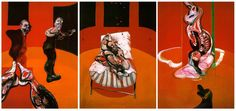 56. Three Studies for a Crucifixion, Triptych - 1962