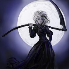 Susan Death of Discworld by vidagr on deviantart - pretty cool :D