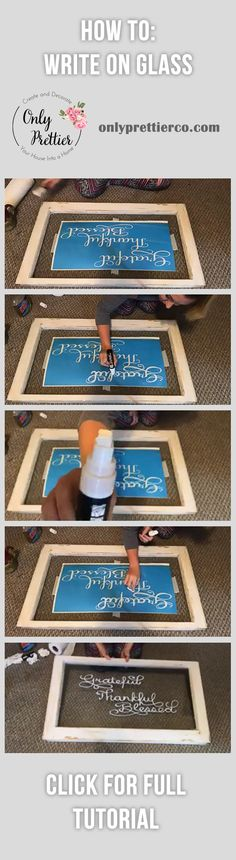 DIY Write on Glass Window on Pinterest, Window Pane Ideas, Chalk Marker on Glass, Window Writing Ideas, Window Writing DIY, Old Windows Repurposed, Old Window Ideas, Old Window DIY, Old Window Projects