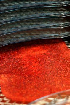 Or so she says...: Strawberry Kiwi Fruit Leather (she: Tammy)