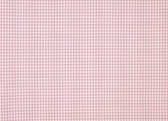 Gingham Pink Check Cotton Fabric
