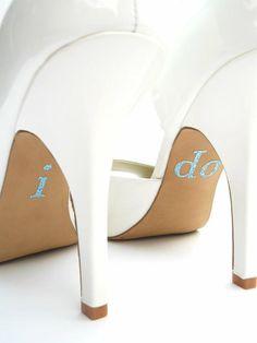 i do - wedding shoes