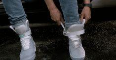 Marty McFly Les baskets qui se lacent seules