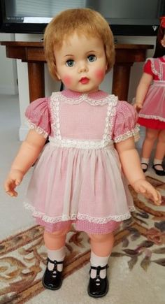 Rare-Vintage-Ideal-32-Pixie-Penny-Playpal-Walker-Doll