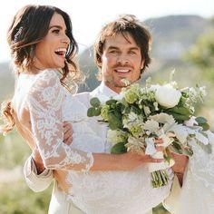 Casamento de Nikki Reed e Ian Somerhalder.