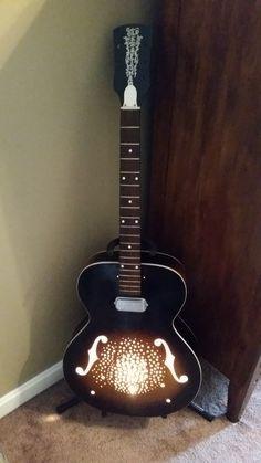mikes guitar lamp