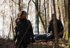 Nicole Beharie (Abbie Mills) and Lance Gross (Daniel Reynolds) on Sleepy Hollow.