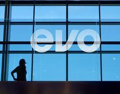 EVO fitness on Behance Evo, Cinema, Company Logo, Logos, Fitness, Behance, Visual Identity, Corporate Design, Movies