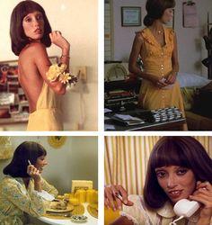 millie collage in the movie Three Women