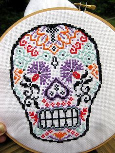Recently started cross stitching and this looks fun!!