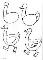 Estas imágenes resultan muy interesantes para motivar a los niños en el dibujo.