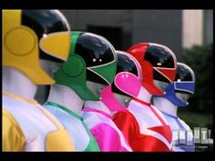 Power Rangers: 20 Years Of Red Rangers (+playlist)