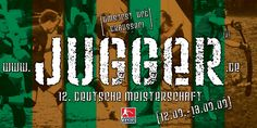 Jugger Flyer 2009 Deutsche Meisterschaft Deutsch, Poster