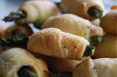 Easy recipe for Asparagus Rollups! Such a fun appetizer!