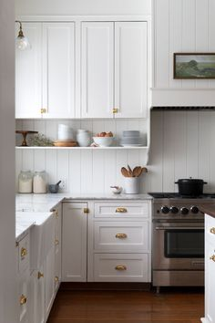 Our Farmhouse Kitchen Reveal! — The Grit and Polish Our Farmhouse Kitchen Reveal! — The Grit and Polish Farmhouse Kitchen Interior, Country Kitchen Farmhouse, Cottage Kitchens, Home Kitchens, Country Style Kitchens, Country Kitchen Renovation, Small Cottage Kitchen, Rustic Kitchens, Eclectic Kitchen