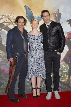 """DISNEY'S """" ALICE THROUGH THE LOOKING GLASS"""" PRESS CONFERENCE PHOTOS FROM LONDON"""