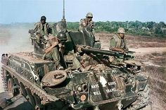 M42A1 Duster C Battery, 5th battalion, 2nd ADA, RVN.