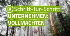 Schritt-für-Schritt Anleitung: Vollmachten Check It Out, Names, How To Make, Poster, Power Of Attorney, Step By Step Instructions, Things To Do, Knowledge, Tutorials