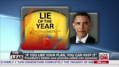 "Obama Denies 'Lie of the Year':  ""My Intentions Have Been Clear Throughout"""