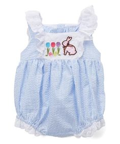 8f833b98564b Lil Cactus Pink Seersucker Unicorn Romper - Infant   Toddler ...