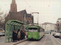 Linie 18 Haltestelle Christuskirche am Klagesmarkt 1980er