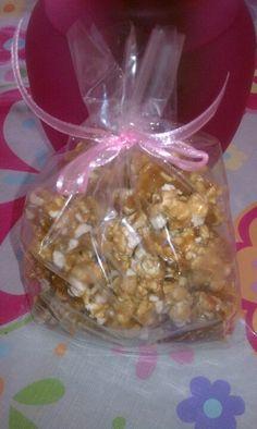 Caramel corn -Paula Deen's recipe