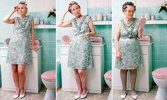 Generation game: German daughter, mother and grandmother posed up in identical clothes in snapshot of family through the ages #DailyMail