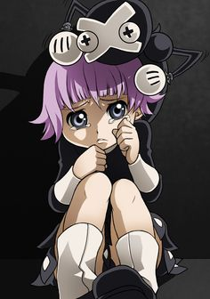 Soul Eater ~~~ Chibi Crona....proof positive that their world desperately needs a child protective service division.
