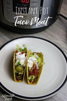 Instant Pot Taco Mea