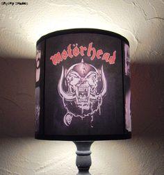 #Motorhead  #SpookyShades #CustomOrder #lighting #lamp http://www.spookyshades.com