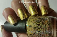 Hawaii Collection by OPI (2015). OoooLaLa!  They are gorgeous, all of them!!!! GREAT polishes. All with a GREAT formula.  Easy application.  I loved wearing each of them!!  This is Pineapples Have Peelings Too!   #OPI #notd #prettynails #hawaii2015