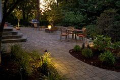 Great patios, courtyards and outdoor livingrooms | Paver, Brick, Stone, Flagstone Patio Designs | Big Sky Landscaping