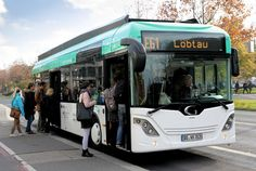 Fast Charging Electric buses Do Overtime in Dresden