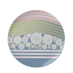 Choose from a great selection of Abstract plates ranging from dinnerware to license plates for you car. Browse our pre-existing designs or create your own on Zazzle today! Circles, Den, Pastel, Waves, Stripes, Cool Stuff, Abstract, Tableware, Summary