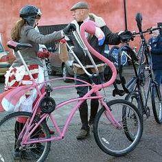 Flamingo bike!!