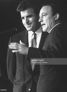 Vince Edwards with dancer and actor Gene Kelly . Get premium, high resolution news photos at Getty Images Vince Edwards, Donald O'connor, Gene Kelly, Film Director, Dancers, Actresses, Actors, Tv, People