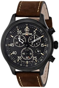 "Timex Men's T49905 ""Expedition"" Rugged Field Watch with Brown Leather Band Timex http://www.amazon.com/dp/B0083XFHIG/ref=cm_sw_r_pi_dp_xDwNub0FJK0Z1"
