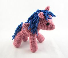 My Little Pony Amigurumi by mengy on Etsy, $38.00