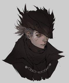 Bloodborne Characters, Bloodborne Art, Dnd Characters, Character Concept, Character Art, Concept Art, Dnd Stories, Soul Game, Bear Art