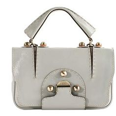 Fendi 'Secret Code' Satchel Handbag