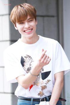 His smile omg