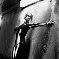 Sigourney Weaver photographed by Helmut Newton