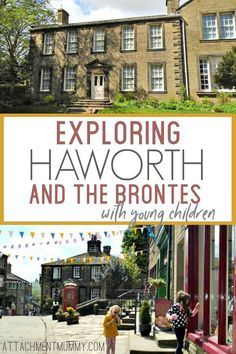 Travel with kids: Exploring Haworth and the Brontes with Young Children #Travel #England #Brontes #Kids #Haworth Days Out With Kids, Family Days Out, Uk Holidays, School Holidays, Travel With Kids, Family Travel, Bronte Sisters, Yorkshire England, Travel Guides