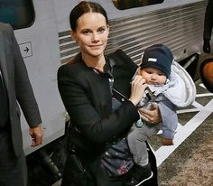 Princess Sofia of Sweden with Prince Alexander. October 20 2016