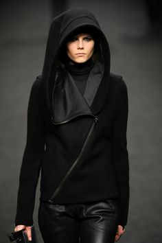 Adorable new black comfy winter hoodie fashion