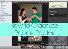 How to organize iPhone photos!